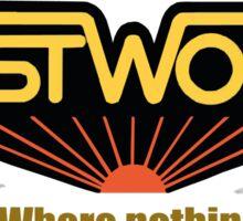 Westworld Vacantion T-Shirt Sticker