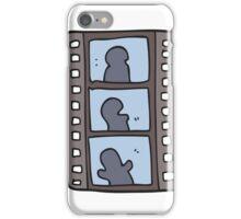 cartoon film strip iPhone Case/Skin
