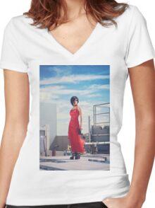 Ada Wong Women's Fitted V-Neck T-Shirt