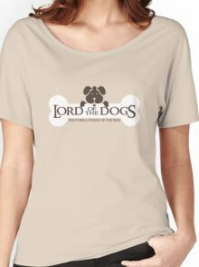 Dogs Furrlowship of the Ring  Women's Relaxed Fit T-Shirt