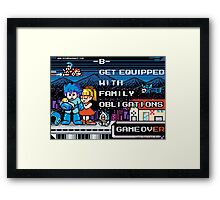 Family Obligations Framed Print