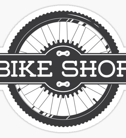 Bike shop Sticker