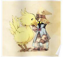 Vivi & Chocobo Poster