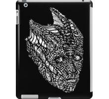 Madame Vastra (whiteline) iPad Case/Skin