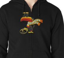 Guinness Irish Rugby Toucan Zipped Hoodie