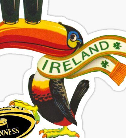 Guinness Irish Rugby Toucan Sticker