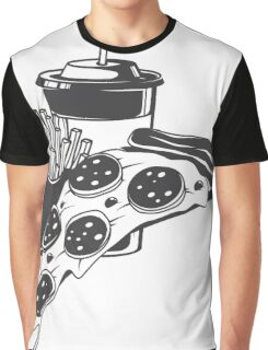 Pizza combo Graphic T-Shirt