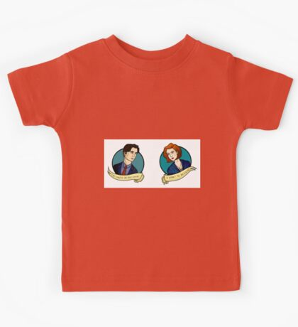 X-Files, Mulder + Scully Kids Tee