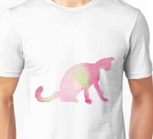 Ping & Green Plaing Cat Unisex T-Shirt