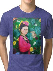 Frida Kahlo Tri-blend T-Shirt