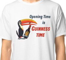 Guinness Time Vintage Logo Classic T-Shirt