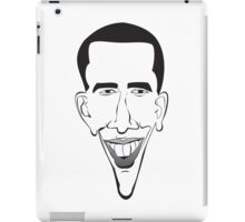 Barrack Obama on your T-Shirt or Hoodie! iPad Case/Skin