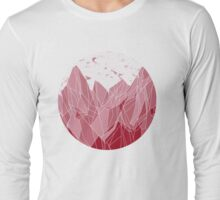 Sunset Mountain ! Long Sleeve T-Shirt