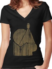 Camp Women's Fitted V-Neck T-Shirt