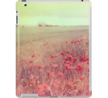 Poppy Fields #2 iPad Case/Skin