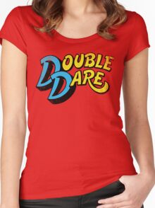 Double Dare (vintage) Women's Fitted Scoop T-Shirt