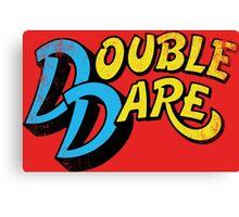 Double Dare (vintage) Canvas Print
