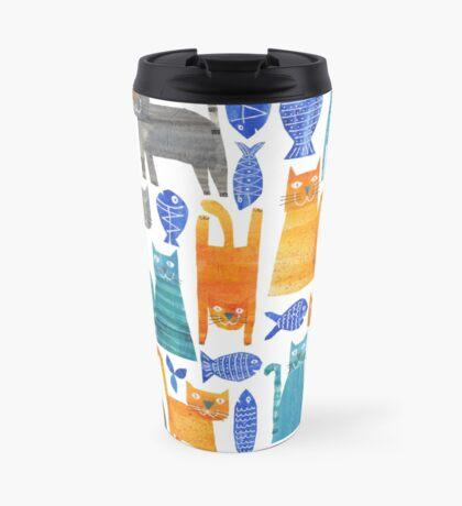 Crazy cats Travel Mug