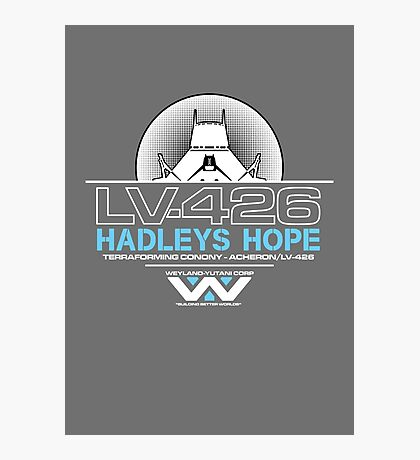 Hadleys Hope - Atmosphere Processing Plant - Aliens Photographic Print