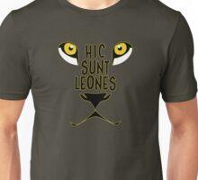 Hic Sunt Leones - Here be dragons Unisex T-Shirt