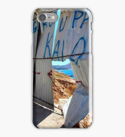 Window to the World 2 - Travel Photography iPhone Case/Skin