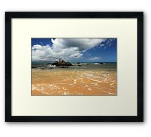 Fishing In Maui Framed Print