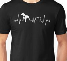 Pitbull Heartbeat Unisex T-Shirt