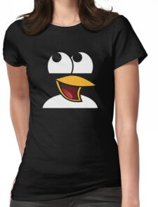 Awesome Linux Penguin Womens Fitted T-Shirt