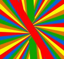 Color Spiral Sticker