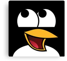 Awesome Linux Penguin Canvas Print