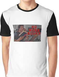 No More Books - Neil Breen Graphic T-Shirt