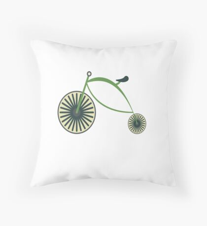 Funny Cycologist Cycling Cycle Throw Pillow