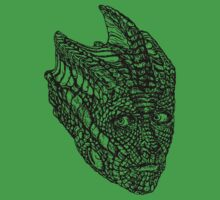Madame Vastra (blackline) by joenerdyart