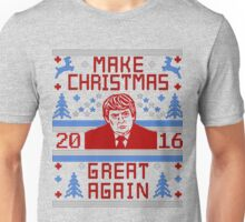 Trump Ugly Christmas Sweater 2016 Make Christmas Great Again Unisex T-Shirt