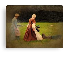 In the Battlefield Canvas Print