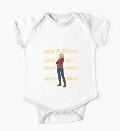OUAT Motivation Quote. Oncer Quote. One Piece - Short Sleeve