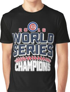 Chicago Cubs Champion World Series 2016 Graphic T-Shirt