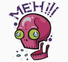 Skull Meh by artdyslexia