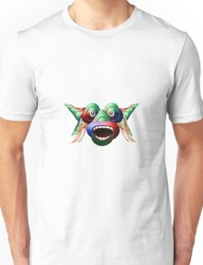 Funny Futuristic Monster Unisex T-Shirt