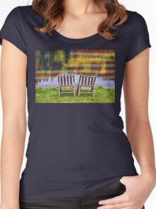 America Day Dreaming For Two Women's Fitted Scoop T-Shirt