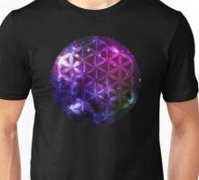 Sacred Geometry: Flower of Life V - Cosmos Unisex T-Shirt