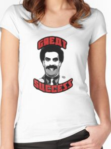 Old Great Success  Women's Fitted Scoop T-Shirt