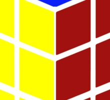i can solve this 'Rubiks Cube' Sticker