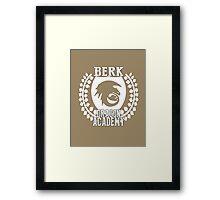 Berk Dragon Academy Tee Framed Print