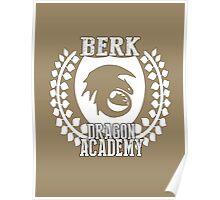 Berk Dragon Academy Tee Poster