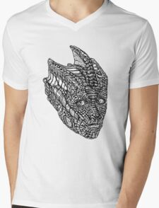 Madame Vastra Mens V-Neck T-Shirt