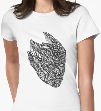 Madame Vastra Womens Fitted T-Shirt