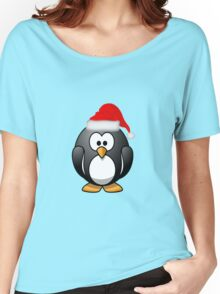 Christmas Penguin Women's Relaxed Fit T-Shirt