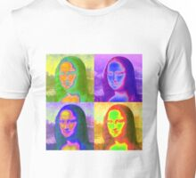 Mona Lisa Pop Art Unisex T-Shirt