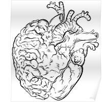 Follow your Heart and Listen to your Brain Poster